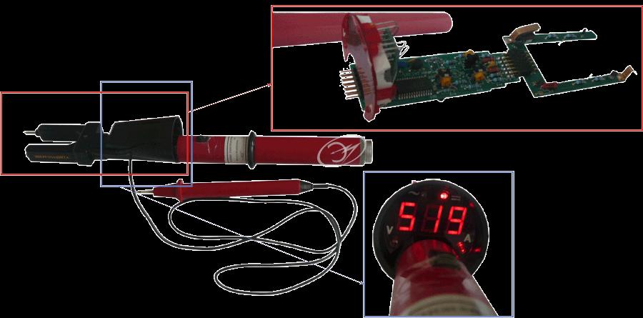 Клещи электроизмерительные цифровые КТ-1000А