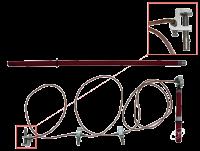 ЗПП-15Н 25мм,35мм,50мм,70мм,95мм,120мм Заземление переносное для РУ Купить с доставкой до объекта по России и СНГ. Низкие цены. Всегда в срок